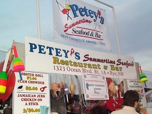 Petey's Restaurant Booth
