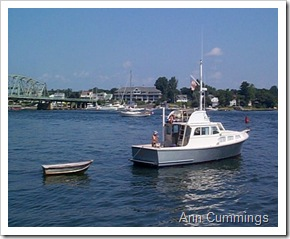 Boating in the Piscataqua River - Ann Cummings 2007