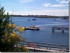 Coastal Kittery Maine - boats and dock