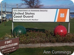 Coast Guard Station New Castle NH - Ann Cummings New Castle NH Copyright