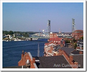 Downtown Portsmouth and Piscataqua River - New Hampshire - Ann Cummings 2007