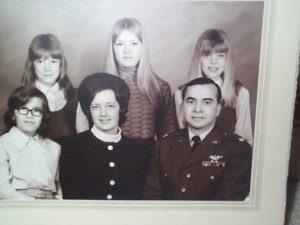 My Family - 1970 - Front Row: Sister Dale, My Mom and Dad. Back Row - Sister Nancy, Me, Sister Karen