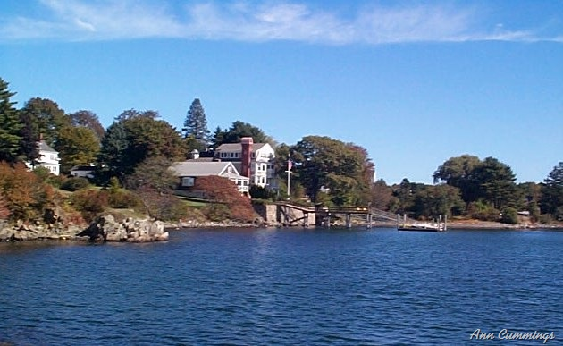Pin coastal maine real estate waterfront homes land for Free land maine