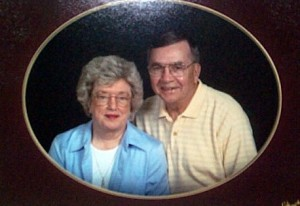 My Mom and Dad in 2005 - Martha Ann and Harold Cummings