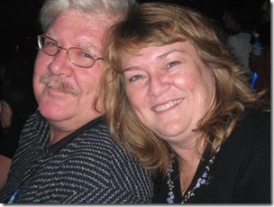 Bear and Ann at House of Blues in Orlando