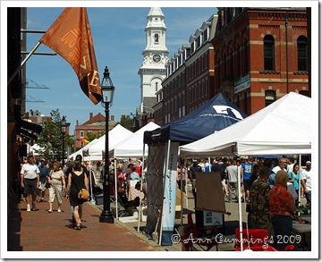 Portsmouth NH Market Square Day 2009