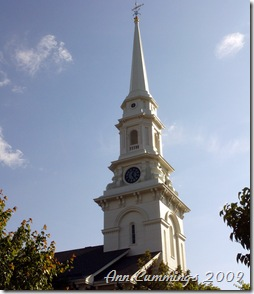 Portsmouth NH North Church Steeple