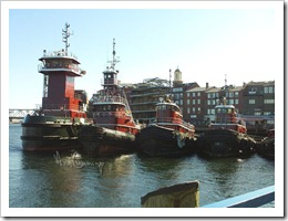 Portsmouth NH - 4 Tugboats - Ann Cummings REALTOR