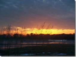 Rye NH Home - Sunrise Over Marsh